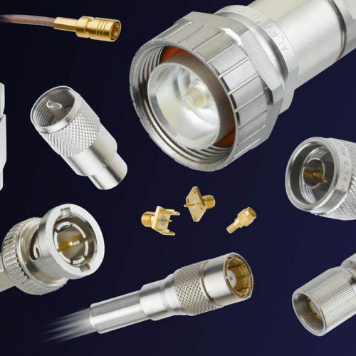 Conectores coaxiales RF de 50Ω y 75Ω hasta 24GHz