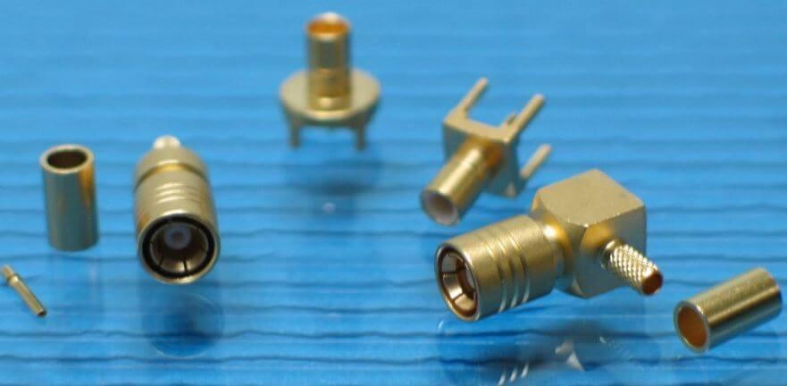 Conector coaxial SMB