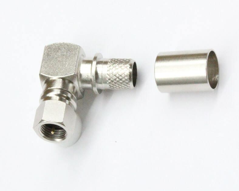 Conector coaxial F